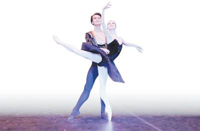 ps芭蕾舞线条图片素材